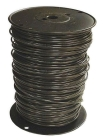Building Wire, CU Conductor, PVC Insulation, 600V, 10 AWG, 19-Str, Black, 0.16 in. OD, Spool