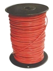 Building Wire, CU Conductor, PVC Insulation, 600V, 10 AWG, 19-Str, Red, 0.16 in. OD, Spool