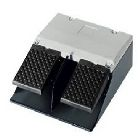 Foot Switch, 400V AC, 16A, 2 N.O. - 2 N.C. Each Pedal, Momentary, M20 x 1.5 Cable Entry, IP65