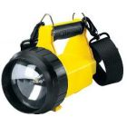 Lantern, 6-Volt Battery, 1 Cells, PAR36 Bulb, ABS Plastic, Yellow, 8 W