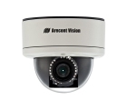 Dome IP Camera, 1920x1080, 2.07 MP, 3-9mm Varifocal Lens, 4.9 in. H x 5.5 in. W