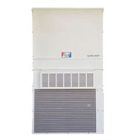 Air Conditioner, 12000 BTUH, 208/230V, 60 Hz, 1 Ph, Heating/Cooling, 20.8/18.1A, 5 kW, Steel, Buckeye Gray