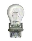 Miniature Incandescent Bulb, 27W, S-8, Plastic Wedge (W2.5x16q) Base, 12.8V, 2.09 in., 1200 hrs