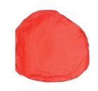 FME Pipe and Component Cover 36 in. Diameter x 6 in. Orange Fabric