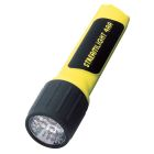 Flashlight, AA Battery, 4 Cells, (7)LED White Bulb, Polymer Body/Polycarbonate Lens, Yellow