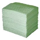 Oil Absorbent Pad, 15.00 in. W x 1.58 ft L, 35.00 gal/bale, Polypropylene, White