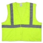 Reflective Safety Vest Lime 2X-Large/3X-Large