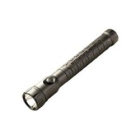 Rechargeable Flashlight Black Polymer Body, Polycarbonate Lens Ni-Cad