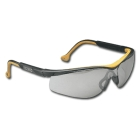 Safety Glasses, Black/Yellow Frame, Indoor/Outdoor Lens