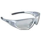 Safety Glasses, Grey Frame, Indoor/Outdoor Lens