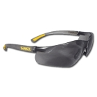 Safety Glasses, Black/Yellow Frame, Smoke Lens