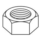 Hex Nut 3/8-16 Steel, Zinc Plated Finish