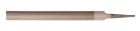 Half Round File, Smooth Cut, American Pattern, 12 in. L, 1 Piece