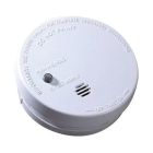 Battery Operated Smoke Alarm, 9V Battery, (Included), 85dB at 10 ft Horn, Test Button