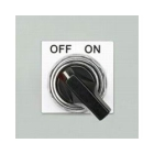 Raised Panel Push Button Label, 1.80 in. H x 1.80 in. W, Polyester, White, Square Shape