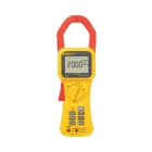 Clamp Meter, 0-1000V AC/DC, 0-2000A, 400.0/4.0k/40.0k/400k Ohms, 5-999Hz, LCD Display