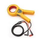 Current Clamp Probe, 0.1A - 800A AC, (1)1000 or (2)500 mcm, Shrouded Banana Plugs Output, 1.6 m, 1mA/A