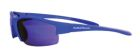 Safety Glasses, Polycarbonate Blue Mirror Anti Fog Lens, Blue Nylon Frame