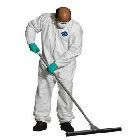 Coverall, Abrasion Resistant, Medium