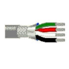 Power and Control Flexible Cable Overall Foil Tape & Braid Shield 4C 24 AWG