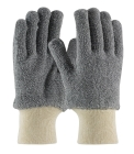 Women's Heat Protection Gloves, Small, Gray, Ambidextrous, Seamless Knit Wrist Cuff, Unlined