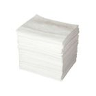 Oil Absorbent Pad, 16.00 in. W x 20.00 in. L, 16.00 gal/bale, Polypropylene, White
