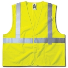 Poly Vest, 52 to 58 in. Chest 2X-Large/3X-Large, Lime, Polyester, 3M Scotchlite Trim