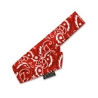CHILL-ITS 12305 Bandana, 2 in. W X 34 in. L Coverage, Red Western, Cotton