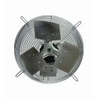 Exhaust Fan, 12.00 in. Dia, 2750 CFM, 120V 1 Ph/1.10A, 1/12 Hp, Guard Mounted Frame, Steel Wire Guard