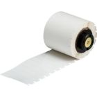 Thermal Transfer Printable Labels, Clear, Polyester, 1.500 in. W x 0.250 in. H (38.100 mm W x 6.350 mm H)