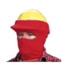 Winter Hard Cap Face Mask FR Polyester One-Size
