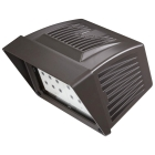 Floodlight, LED, 43W, Knuckle Mount, 9.36 in. H x 6.36 in W x 7.53 in. D
