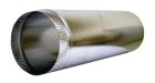 Snap Lock Pipe, 30 ga Galvanized Steel, 5 in. Dia., 5 ft L