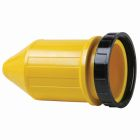 Plug Boot Yellow Rubber