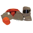 Arc Flash Protection Kit, 2X-Large, 100 cal/cm-sq HRC 4, TUFFWELD