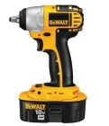 Cordless Impact Wrench Kit 3/8 in. Square 18.0VDC