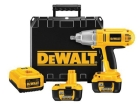 Cordless Impact Wrench Kit 1/2 in. Square 18.0VDC