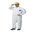 Coverall, Tyvek, Open Wrists/Ankles, White, 2X-Large