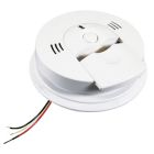 Carbon Monoxide and Smoke Alarm, 120V w/Battery Backup, 24 Interconnect Stations