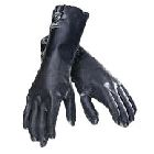 Gloves, Chemical Resistant, Gauntlet Cuff, Small