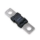 Stud-Mounted Fuse, Time Delay, 150A, 48VDC, 1000A IR, 0.339 in. Dia x 2.69 in. OAL