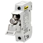 Fuse Holder, 30 A, 600VAC, 1P, Class CC Fuse, Din Rail 35mm Mount, (1)18-8 AWG Line/Load