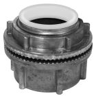 Conduit Hub, 1/2 in. Trade, Threaded Installation, Die-Cast Zinc, Insulated Throat, Non-Grounding