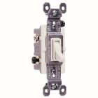 3-Way Toggle Switch 15A 120V White