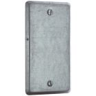 Steel Utility Outlet Box Cover Blank