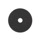 Stripper Pad, 17 in. Dia x 0.75 in. thick, Circular Disk Shape, Nylon/Polyester Blend, Black