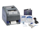 Thermal Transfer Printer Kit Thermal Transfer Printer, Markware Software, Power Cord, USB Cable, Network Card, Drivers CD, Stylus, Cleaning Kit, Cutter Cleaning Tool, Quick Start Guide and Documentation Holder