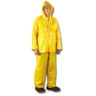 Bib Overall, 44 to 46 in., Polyurethane coating on Nylon Fabric, Gold