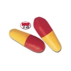 Disposable Earplugs Yellow and Orange Foam Uncorded - 51154