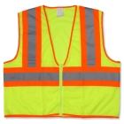 Two-Tone Vest Lime 58